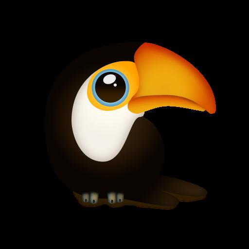 Tuqui, Trans, Animal, Toucan, Bird Icon