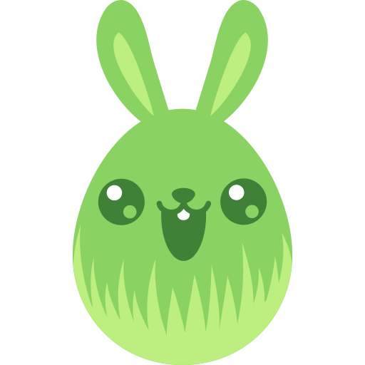Cute, Bunny Icon Free Of Easter Egg Bunny Icons