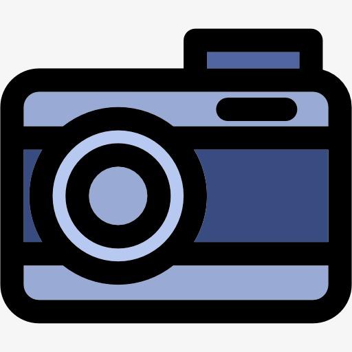Cartoon Camera, Hand Painted The Camera, Cute Camera Png