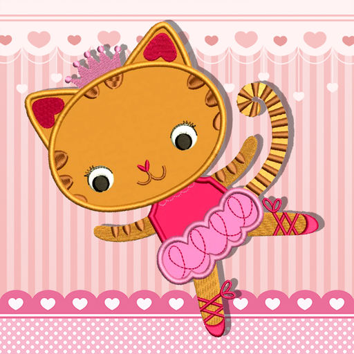 Cute Cat Kitty Kitten Sky Dancing Princess