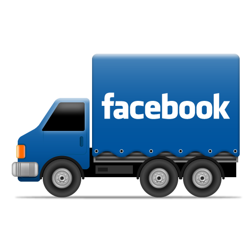 Facebook Icon Social Trucks Iconset Cute Little Factory
