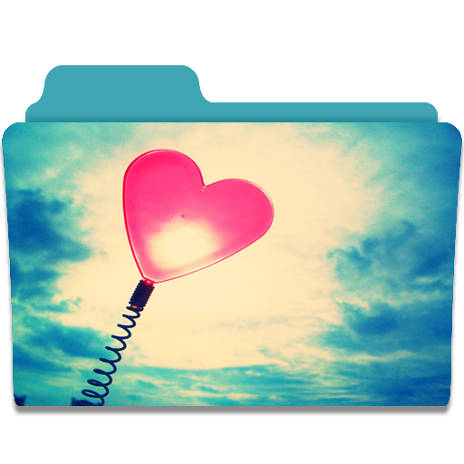 Folder Heart Icon Cute Folders Iconset Anabella Falivene