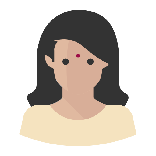 Avatar Modern Indian Woman, Indian, King Icon Png And Vector