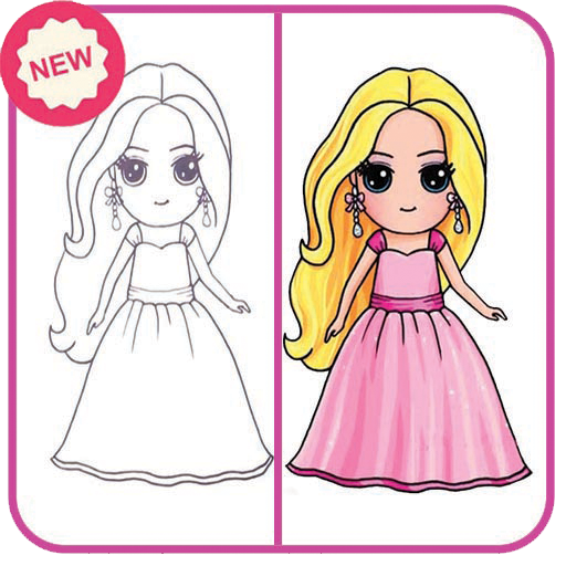 How To Draw Cute Girls Easy Apk
