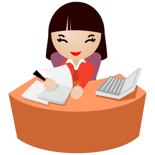 Cute Office Girl Icons Download Free Icons