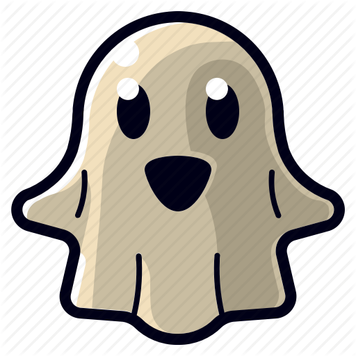 Cartoon, Character, Cute, Ghost, Halloween, Monster, Spooky Icon