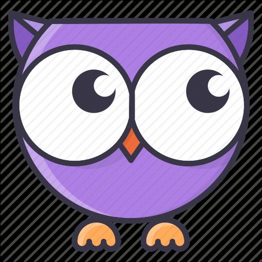 Fall, Cartoon, Cute, Emoticon, Halloween, Monster, Owl Icon