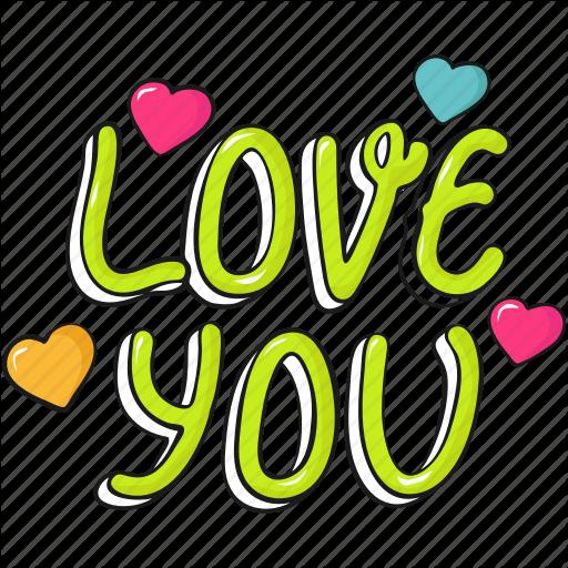 Cool, Cute, Heart, Lettering, Love, Valentine, Valentine's Icon