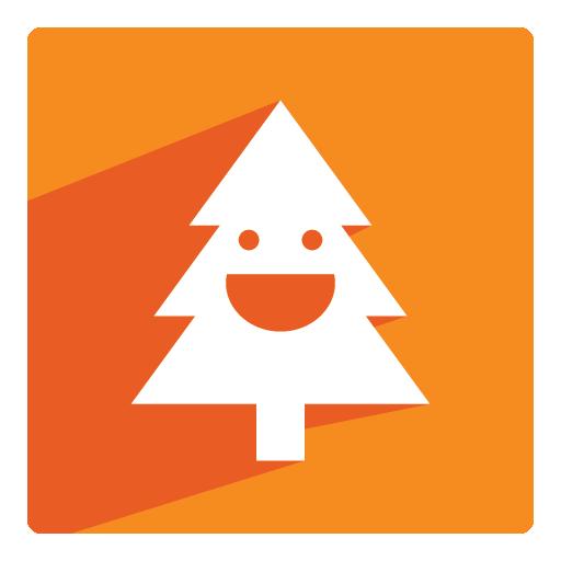 Cute Cartoon Christmas Tree Icon Free Icons Download