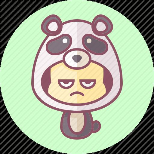 Animal, Avatar, Costume, Cute, Kaw Panda Icon