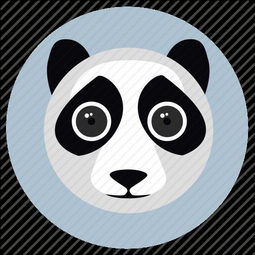 Animals, Big Eyes, Cute, Face, Panda, Pets Icon
