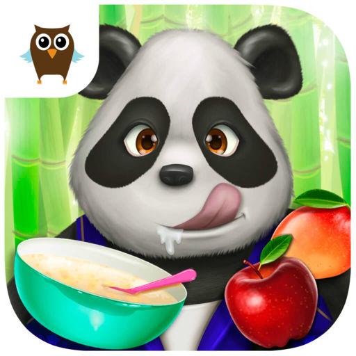 Cute Panda Village