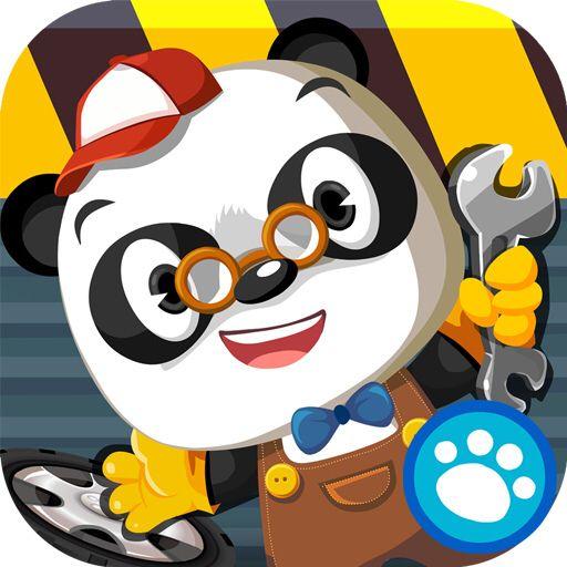 Dr Panda's Garage Icon Game Related Panda, Cute