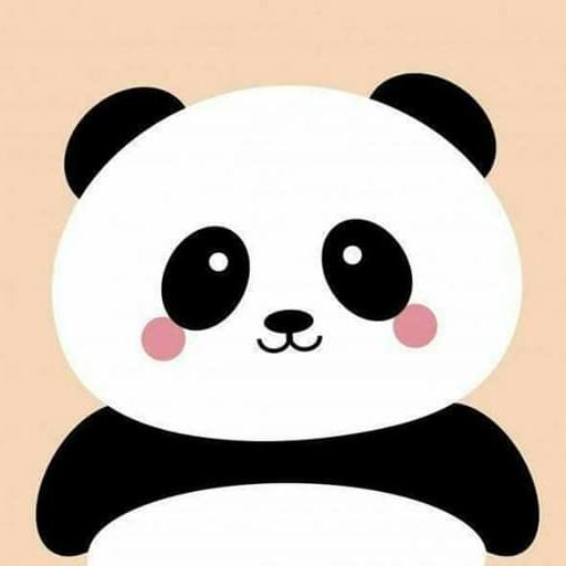 Green Cute Panda Bowknot Theme