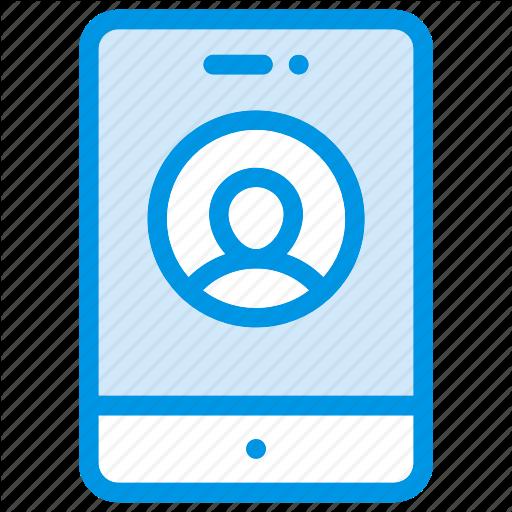 Account, Login, Mobile, Phone Icon
