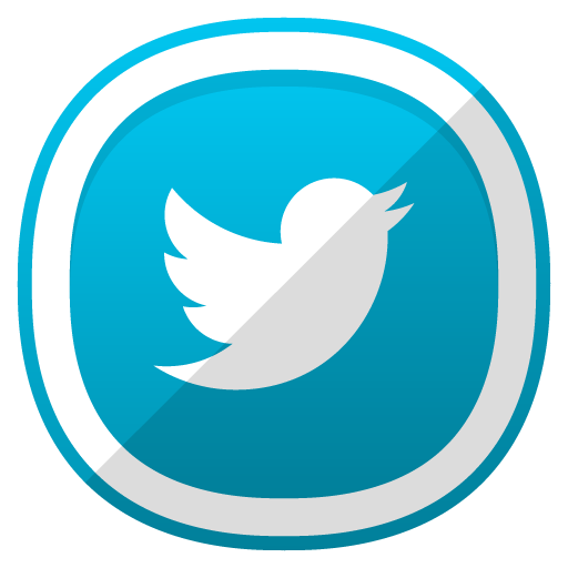 Twitter, Social Network Icon Free Of Free Cute Shaded Social Icons