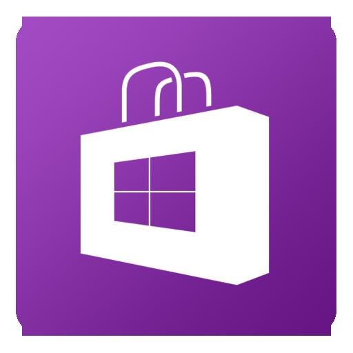 Windows Phone Store Icon Flat Gradient Social Iconset Limav