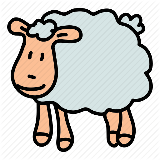 Animals, Cute, Farm, Field, Herd, Sheep Icon