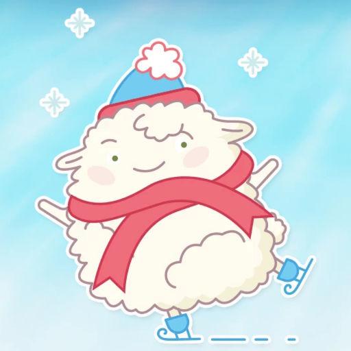 Cute Sheep! Stickers
