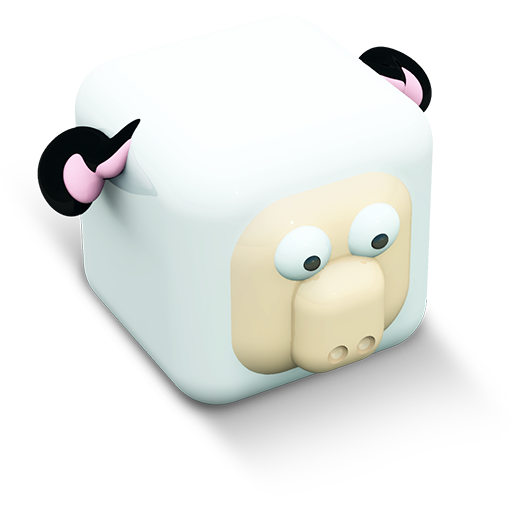 Sheep Icon Cubed Animals Iconset Archigraphs