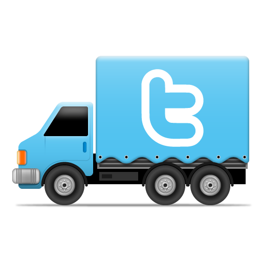 Twitter Icon Social Trucks Iconset Cute Little Factory