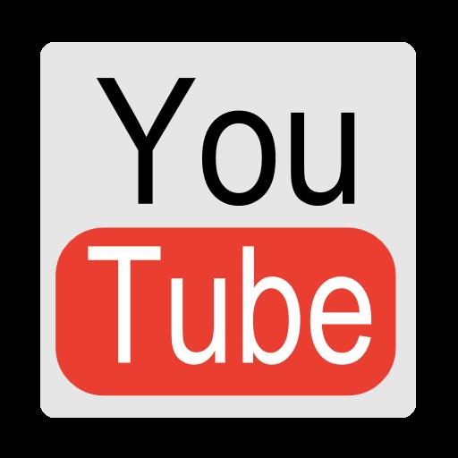 Cute Youtube Icon Logo | aesthetic caption