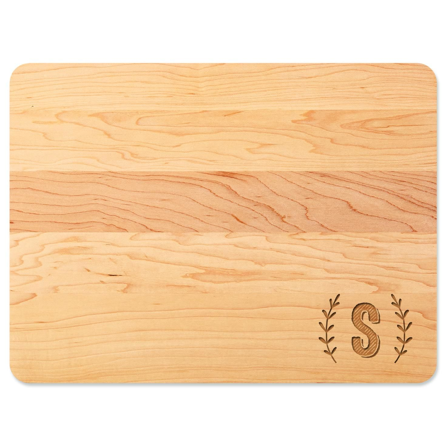 Home As Brand Personalized Wood Cutting Board