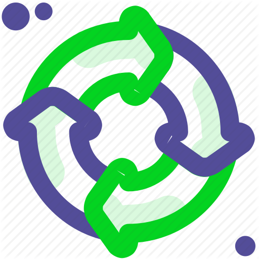 Circle, Cycle, Process, Recycle Icon