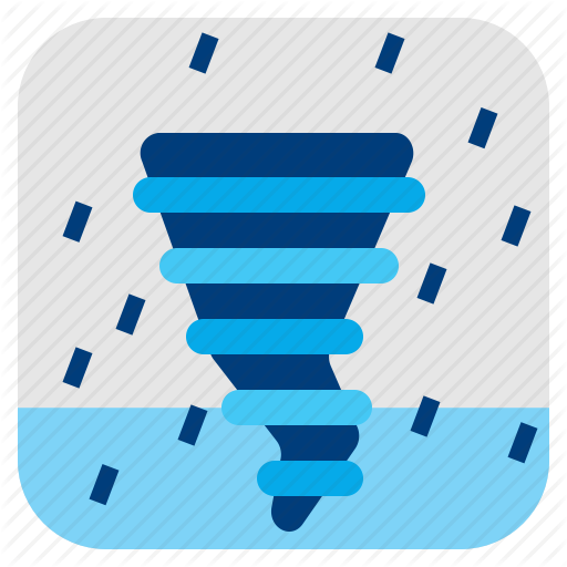 Cyclone, Hurricane, Typhoon, Weather Icon