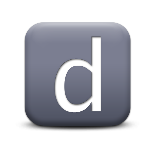 Image Free Icon Letter D