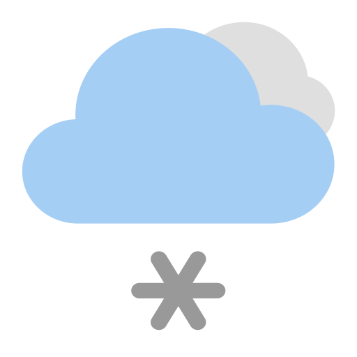 Light Snow D, Flat, Fill Icon With Png And Vector Format For Free