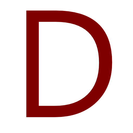 Png Icon Letter D