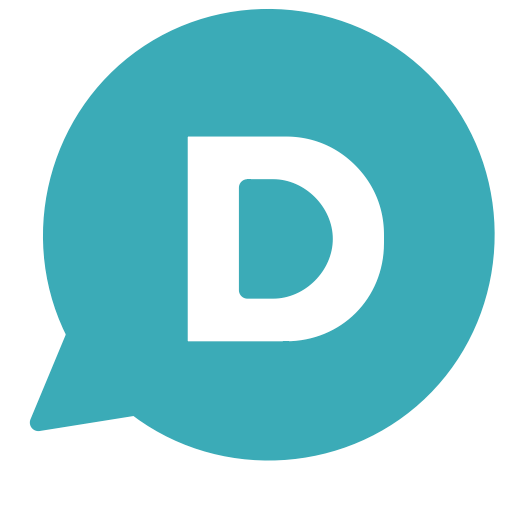 D, Single, Letter, Circle, Chat, Brand Icon Free Of Brands Flat