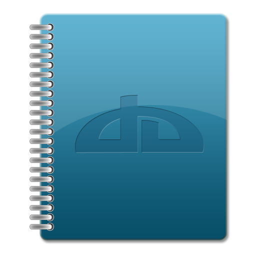 Notebook Icons Version Blue