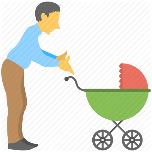 Caring Dad, Father Love, Father Relation, Fatherhood, Parent Day Icon