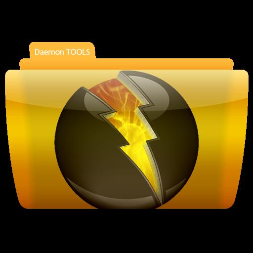 Daemon Tools, Folder, Icon Free Of Colorflow Icons