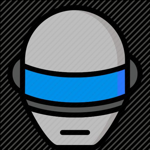 Color, Daft, Droid, Mechanical, Punk, Robots, Ultra Icon