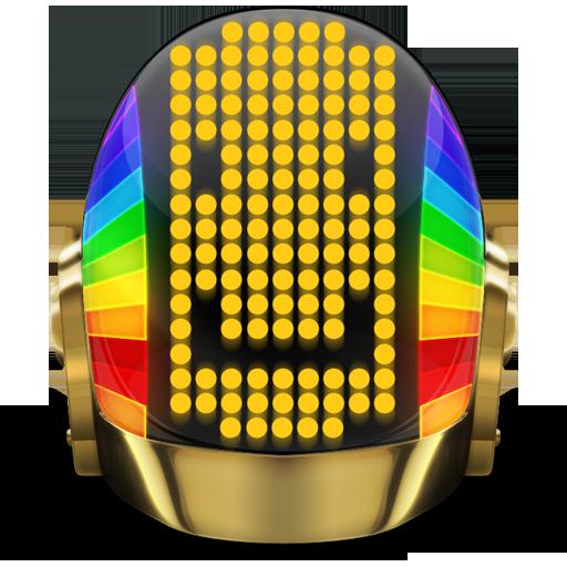 Daft Punk Guyman Smile Icon Daft Punk Iconset Svengraph