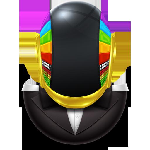 Guyman Bowtie Icon Daft Punk Super Iconset Svengraph