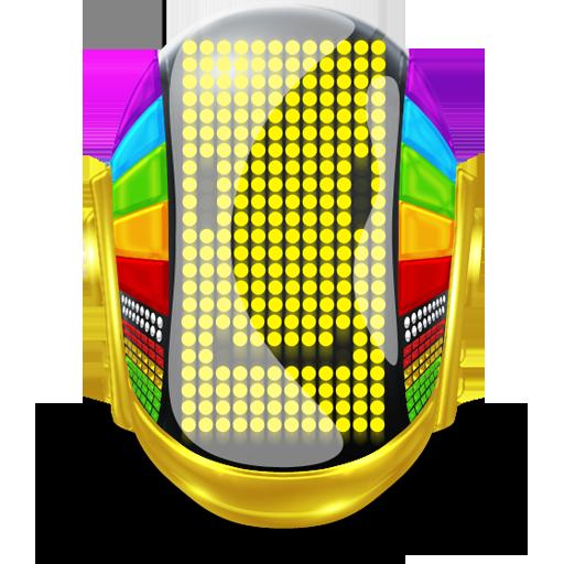 Guyman Smile Icon Daft Punk Super Iconset Svengraph