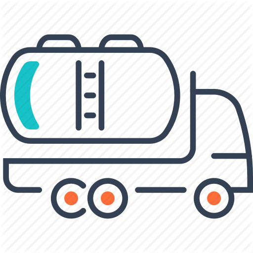 Dairy, Mode, Of, Transport, Truck Icon