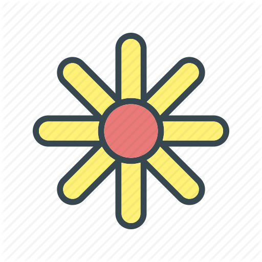 Chinese Flower, Daisy, Daisy Flower Icon