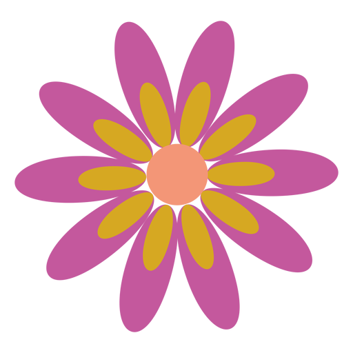 Flower Clipart Icon Opacity Collection