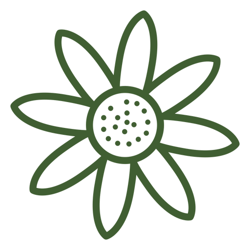 Simple Sunflower Icon