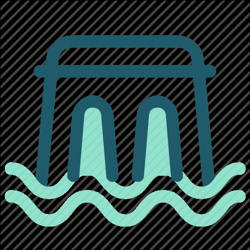 Dam, Eco, Energy, Environment, Renewable, Water, Waterdam Icon