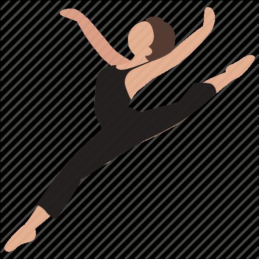 Ballet, Dance, Dancer, Jazz, Jump, Leap, Modern Icon