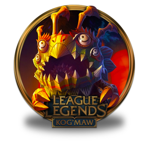 Kogmaw Lion Dance Icon League Of Legends Gold Border Iconset