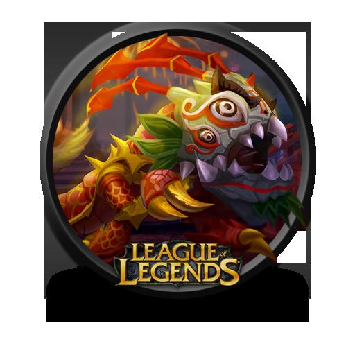 Kogmaw Lion Dance Icon League Of Legends Iconset