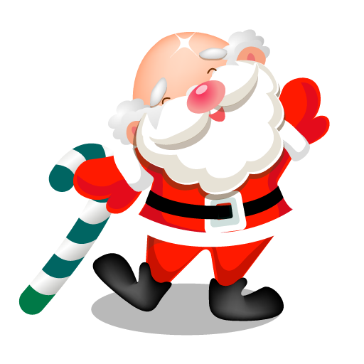 Santa Dancing Icon Santa Iconset Mid Nights