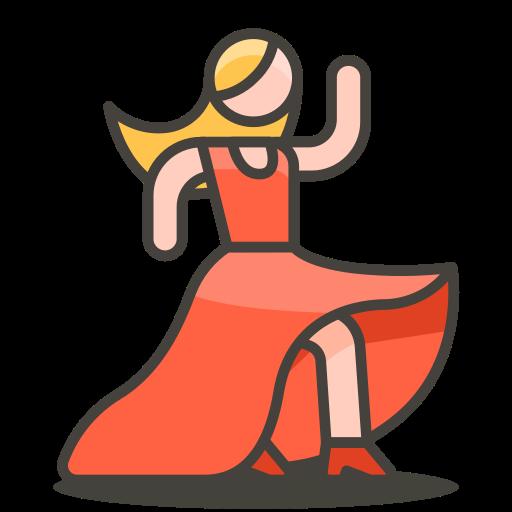 Woman, Dancing Icon Free Of Free Vector Emoji